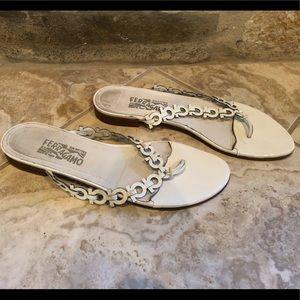 Used Salvatore Ferragamo women's sandals